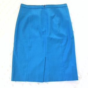 J. Crew Skirts - J.CREW Blue Pencil Skirt